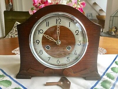 Bentima 'perivale' Striking Mantel Clock - Working With Key