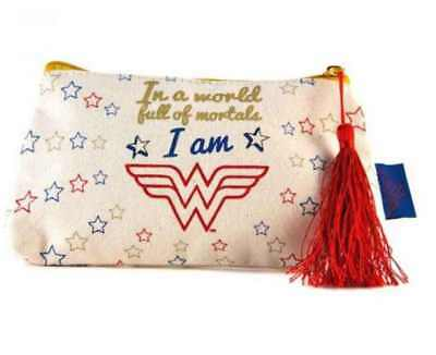 Wonder Woman Dc Comics Style Toiletries Wash Cosmetics Bag