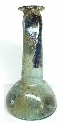 Ancient Roman Glass flask .