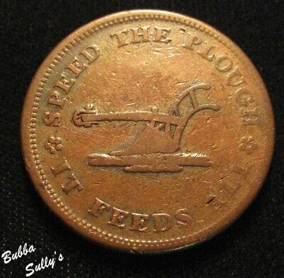 1835 Hard Times Token <> Walsh's General Store <> HT 216 R1
