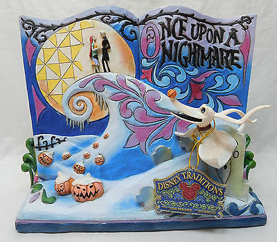 Disney Enesco Figurine Storybook Nightmare before Christmas Skellington 4057953