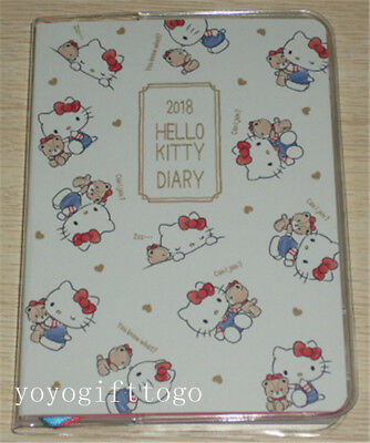 2018 Sanrio Hello Kitty Schedule Book Diary Planner Notebook