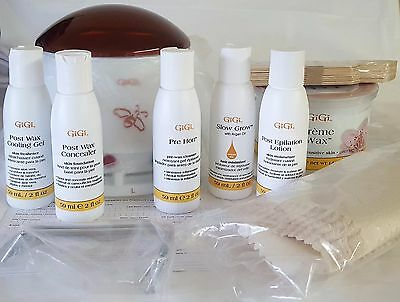 Gigi Mini Pro Waxing Kit - Starter Hair Removal Kit - Model 0140 - OPEN BOX