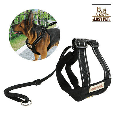 Small Dog Harness and Leash Set Soft Harness Vest Lead For Puppy Adjustable XS-L