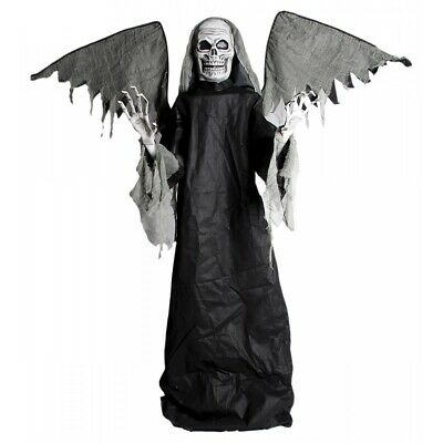 Animated Winged Grim Reaper Decoration Adult Halloween