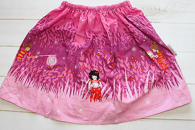 Alejandra Kearl Designs 4 5 4-5 Years Catching Fireflies Firefly Fairy Skirt Euc