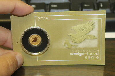 Australian Wedge- Tailed Eagle- .5 Grams Gold Coin