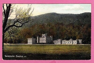 Dated 1908, Taymouth Castle, Perthshire