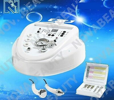 phonophorese Diamond Derm Abrasion Microderma Cosmetic DEVICES ULTRASOUND