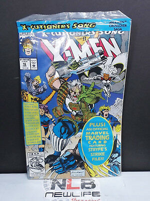 NEW Marvel Comics X-Men #16 Jan 1993 X-Cutioners Song Comic SEALED