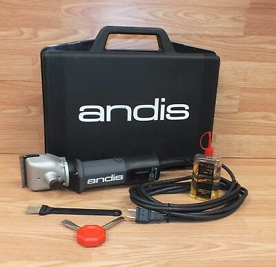 Genuine Andis (HC 96 VA) 120V 60Hz Heavy Duty Corded Cattle/Horse Clippers *READ