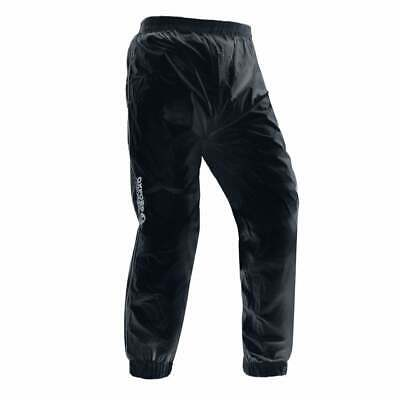 Oxford Rainseal Rain Waterproof Motorcycle Motor Bike Over Trousers - Black