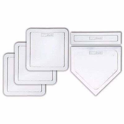 Franklin MLB® 5PC Rubber-Tec®  Base Set - Baseball Bases aus Gummi
