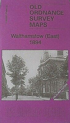 Old Ordnance Survey Detailed  Maps Walthamstow East London 1894 Sheet 15 Col Ed