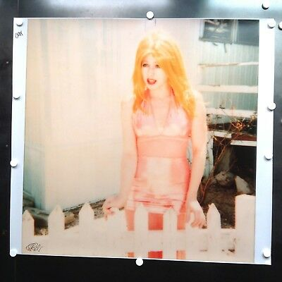 Stefanie Schneider Signed Proof 'Max...' 123x125cm, based on a Polaroid Original