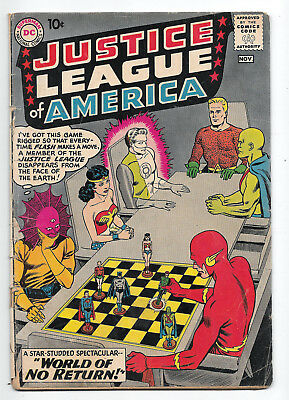 Justice League of America Issue #1 Good+ 2.5 Classic Cover