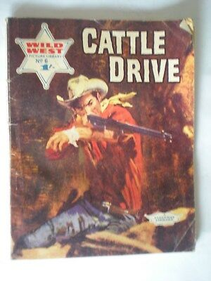 Wild West Picture Library No. 6 - 1966 - Cattle Drive