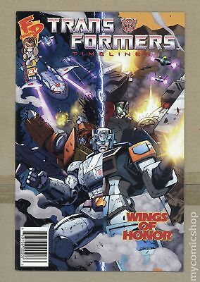 Transformers Timelines (2006) #4A VF+ 8.5