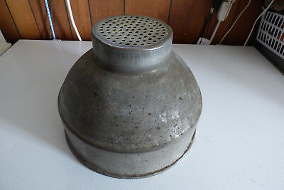 Galvanized Farm Milk Strainer Cream Separator Dairy Funnel w/filter ring