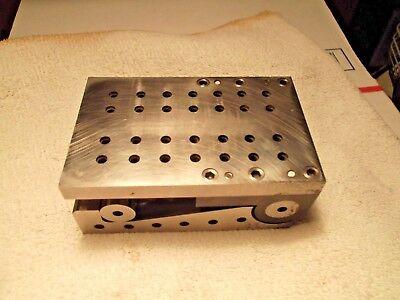 S. R. Beck Jan 1946 Toolmaker Precision Sine Bar Plate Fixture Ground Hardened