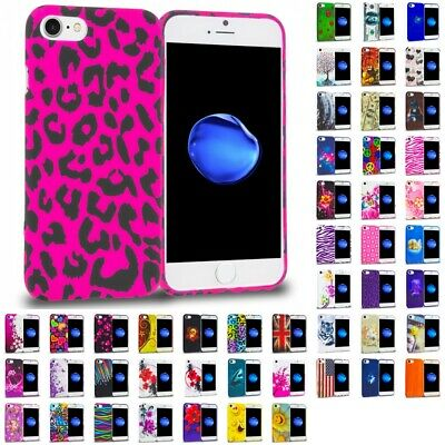 For Apple iPhone 8 Silicone Rubber Gel Design Case Flexible TPU Skin Cover