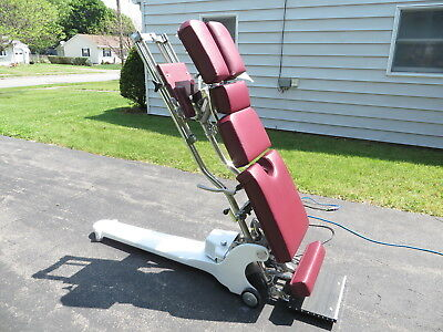 Zenith Model 210 Hylo Chiropractic Adjusting Table HiLo (Cast Iron)