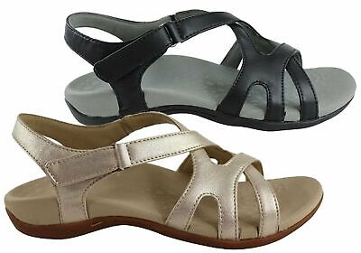 New Scholl Orthaheel Amy Womens Supportive Orthotic Comfort Flat Sandals