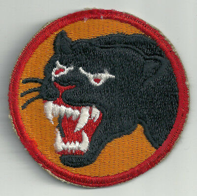 Ww2 Era Us Army 66Th Infantry Division Cut Edge Snow Back Insignia Patch Wwii