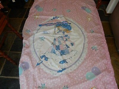 Vintage Holly Hobbie Single Bed Quilt Cover