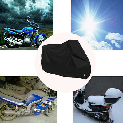 Motorcycle Cover Waterproof Outdoor Rain Dust UV Scooter Motorbike Protector