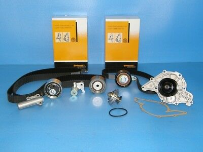 Timing Belt Kit ContiTech Audi Skoda VW 2.5 TDI +Water Pump+Thermostat
