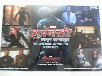 AVENGERS: AGE OF ULTRON Robert Downey Jr ORIG LOBBY CARDS 4PC SET INDIA MINT