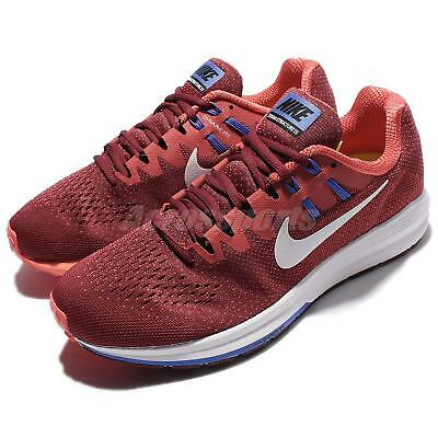 save off 4757d 6b84c Nike Air Zoom Structure 20 Red Blue Men Running Shoes Sneakers 849576-601