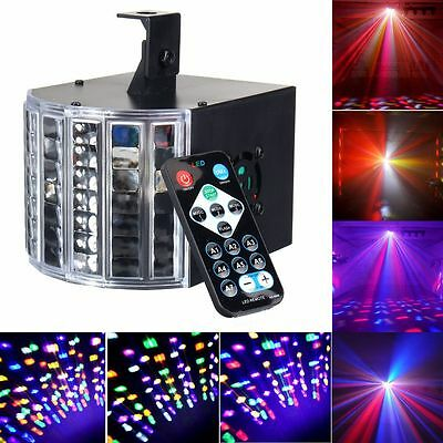 Sound Active 30W DMX512 RGBW Led Stage Strobe Light DJ KTV Projector Disco Party