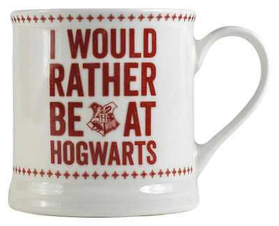 Harry Potter I Would Rather Be Vintage Style Coffee Mug Cup New & Gift Box