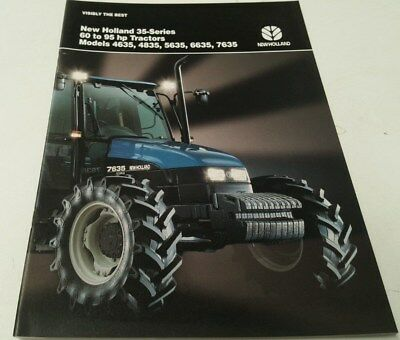 1997 NEW HOLLAND 35 Series TRACTOR  Sales Brochure