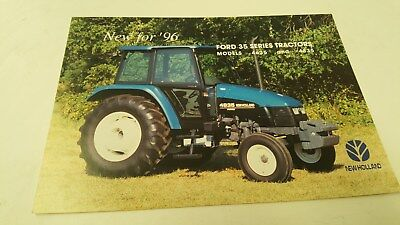 1996 FORD 4635 4835 TRACTOR Australian  Sales Leaflet