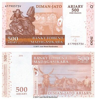 Coins & Paper Money Latest Collection Of Madagascar 200 Ariary 2004 P87b X 5 Consecutive Unc Banknotes Discounts Price Paper Money: World
