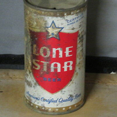 Lone  Star  Beer  Solid  Colorful  Flat Top