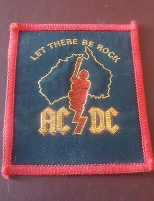 acdc let there be rock patch