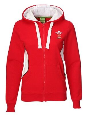 Wales Manav Ladies Full Zip Hoody