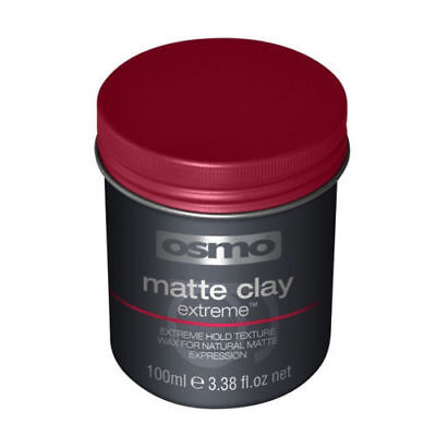 Osmo Matte Clay EXTREME Wax, Strong Hold Extreme Styling 100ml FAST DELIVERY
