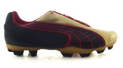 Puma V5.10 Fg Boots Adults Black/TeamGold/red
