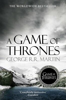 A Game of Thrones (A Song of Ice and Fire, Book 1) (Paperback), M...