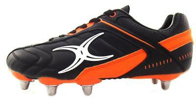 Gilbert Barbarian Kids Black/Orange Boots