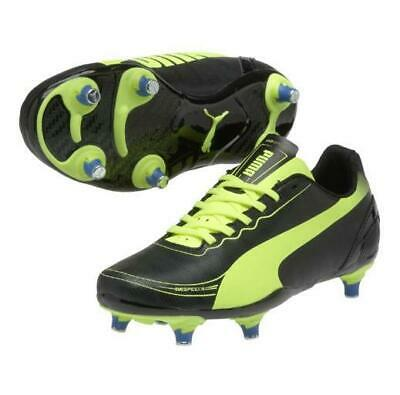 Puma Evospeed 5.2 Sg Junior Black/Yellow S14 Boots