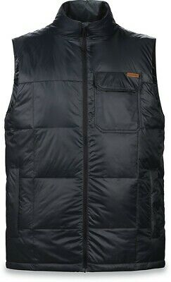 New 2018 Dakine Mnes Brightwood Insulated Snowboard Vest Large Black