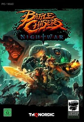 Battle Chasers : Nightwar - PC Steam Key Download Code - Lieferung per Mail