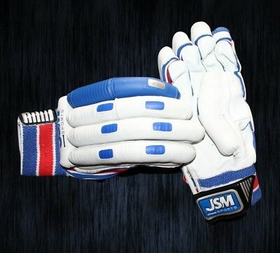 JSM PRO PLAYERS L.E. Cricket Batting Gloves RIGHT Handed PLAYERS/TEST GRADE!
