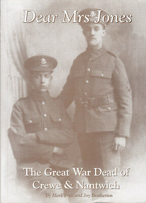 CREWE and NANTWICH Great War Dead of Crewe and Nantwich Dear Mrs Jones SCARCE
